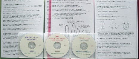 テキストと施術解説DVD